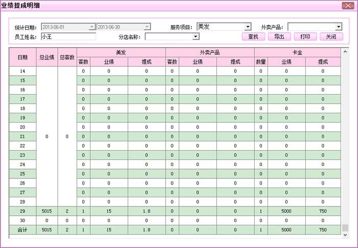 睿祺美发行业管理软件v6.0 - 美容美发行业 - 产品